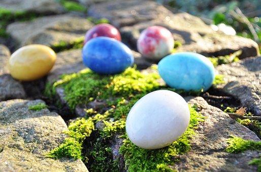 Egg, Marble Egg, Colored Egg, Easter Egg, Easter
