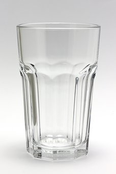 Glass, Clear, Crystal, Water Glass