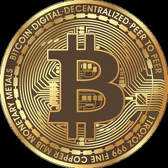 Bitcoin, Blockchain, Currency, Coin, Gold