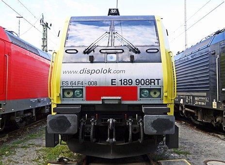 Dispolok, Lokpool, Goods Train Locomotive, Depot