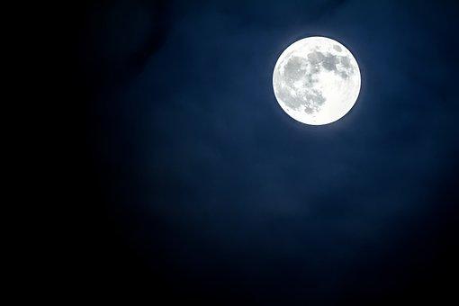 Moon, Sky, Luna, Lunar, Astronomy, Full Moon, Planet