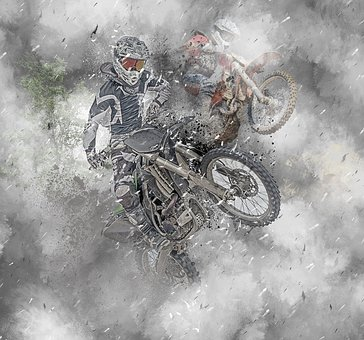 Dirtbike, Motocross, Sport, Extreme, Motorcycle, Active
