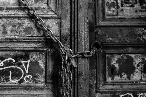 Old, Door, Architecture, Art, No One, Home