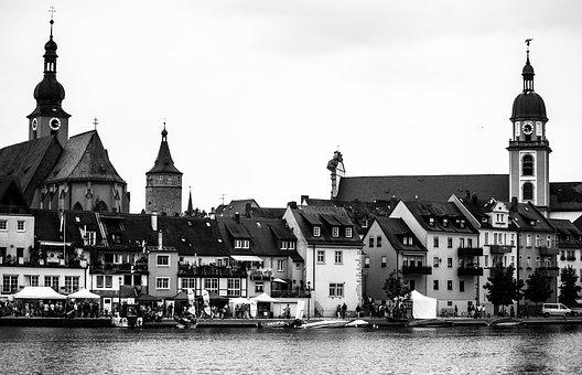 Architecture, River, Church, Travel, City, Waters, Old
