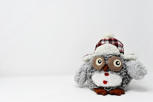 Owl, Figure, Stuffed Animal, Decoration, Funny, Bird