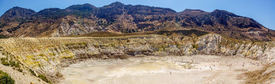 Volcano, Nature, Landscape, Panoramic, Panoramic Photo