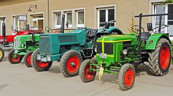Tractors, Oldtimer, Parade, Exhibition, Deutz, Hanomag