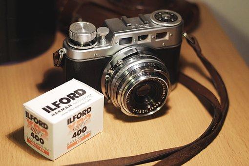 Lens, Shutter, Antique, Old, Vintage, Equipment