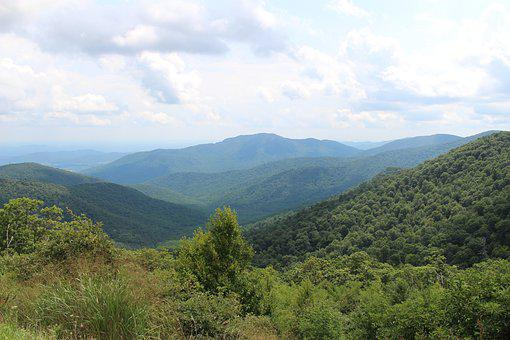 Nature, Mountain, Landscape, Panoramic, Sky, Virginia
