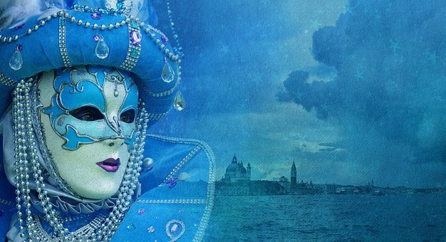 Venice, Storm, Mask, Venezia, Cloudy, Sky