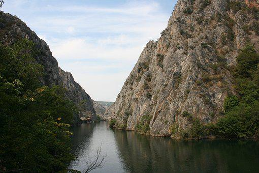 Water, Nature, River, Travel, Mountain, Canyon Matka