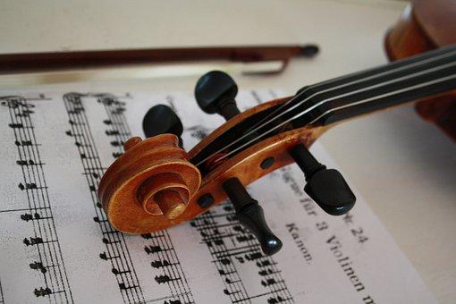 Violin, Stringed Instrument, Music, Instrument