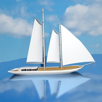 Sailing Boat, Ship, Yacht, Sail, Nautical, Sea, Boat