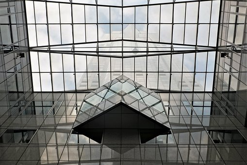 Glass, Architecture, Modern, Building, Office