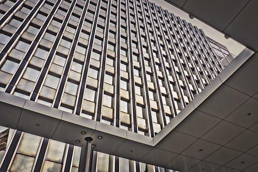 Glass, Architecture, Modern, City, Futuristic, Blanket