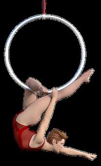 Variety, Woman, Artistry, Acrobatics, Mature, Movement