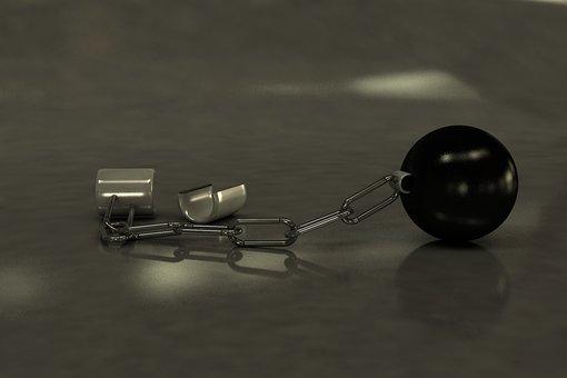 Ball, Prisoner, Shackle