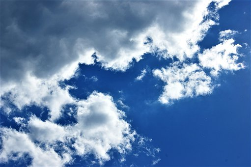 Nature, Weather, Cloudscape, Fluffy, Summer