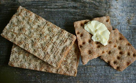 Crispbread, Bread, Crispy, Food, Crack, Baked Goods