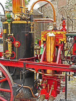 Fire, Steam Power, Feurspritze, Water Pump