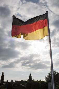Flag, Sky, Flagpole, Wind, Cloud, Germany Flag, Germany