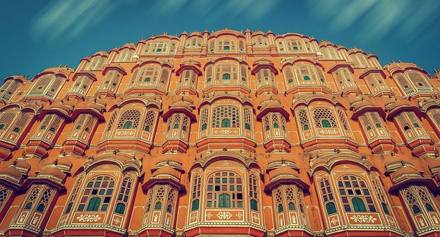 Hawa Mahal, India, Architecture, Jaipur, Palace