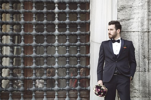 Folk, Male, Portrait, Son In Law, Istanbul, Bride Groom