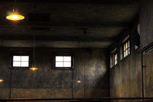 Abandoned, Architecture, Light, Vacuum, Darkness, In