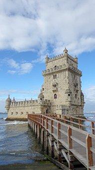 Lisbon, Torre De Belém, Belem Tower, Tower Of Belém