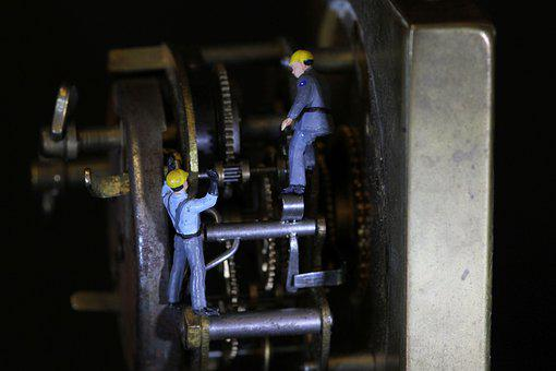 Movement, Mechanics, Miniature Figures, Technology