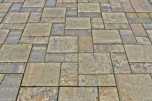 Slabs, Patch, Flooring, Paved, Background