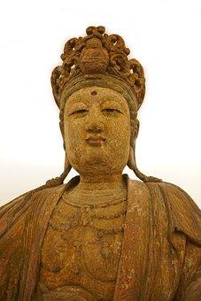 Sculpture, Statue, Religion, Art, Buddha, Asia