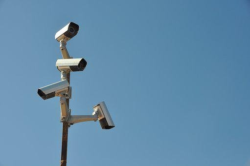Surveillance Camera, Mast, Video Surveillance
