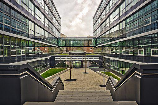 Architecture, Glass, Modern, City, Building, Window