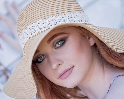 Woman, Hat, Fashion, Pretty, Beautiful, Girl, Young