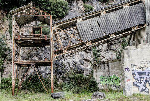 Wood, Nature, Old, Abandoned, Rusty, Building