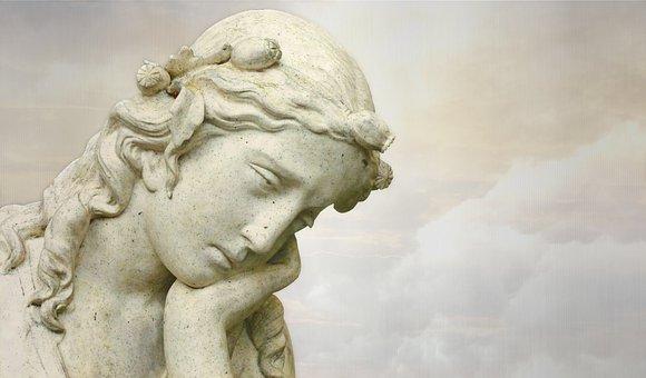 Sculpture, Statue, Art, Marble, Monument, Angel