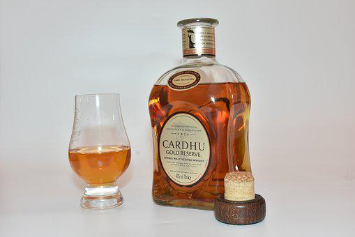 Bottle, Glass, Drink, Whisky, Alcohol, Scotch