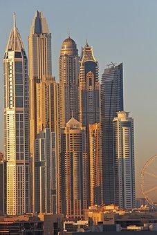 Dubai, Beautiful, City, Architecture, Skyscraper