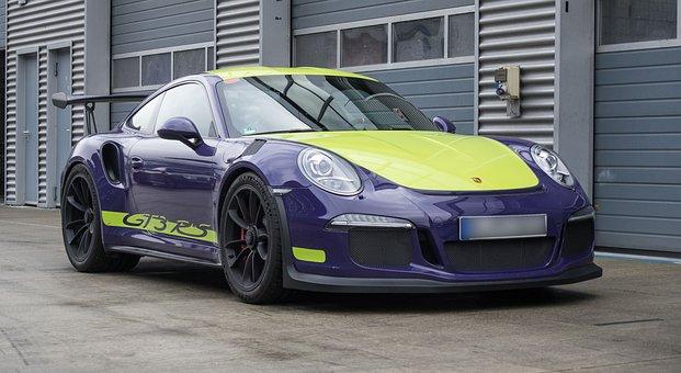 Auto, Porsche, Gt3, Sports Car, Coupe, Vehicle