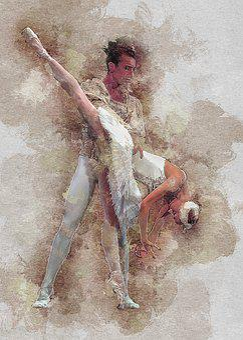 Portrait, Ballet, Dance, Dancer, Ballerina, Elegance