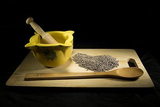 Wood, Food, Still Life, Lentils, Rustic, Nutrition
