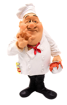 Cooking, Figure, Funny, Restaurant, Gastronomy, Chefs