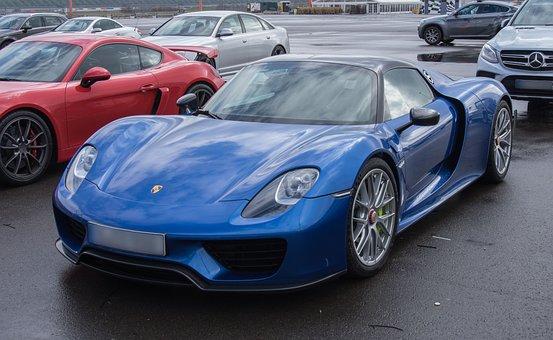 Auto, Porsche 918, Spyder, Hybrid Vehicle