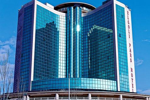 Architecture, Skyscraper, Office, Glass Items, Modern