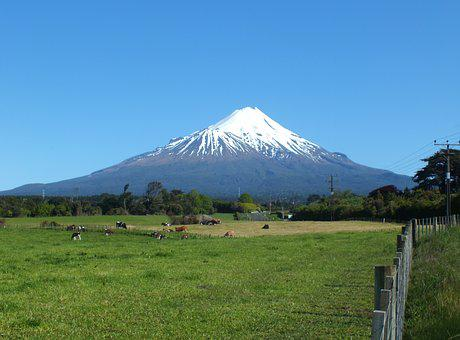 Mountain, Landscape, Volcano, Nature, Mountain Peak