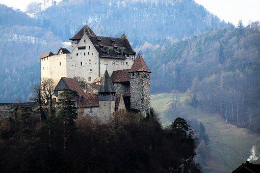 Castle, Travel, Mountain, Architecture, Monument