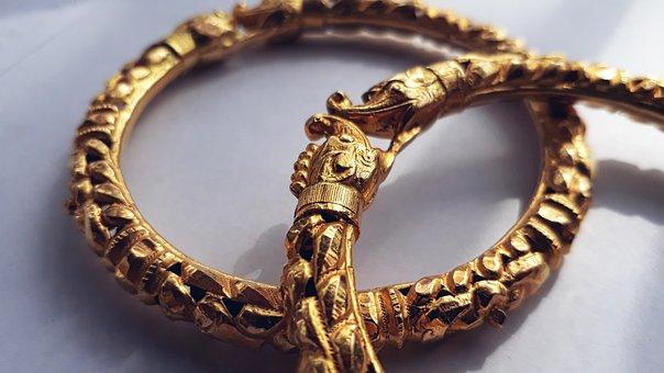 Jewelry, Chain, Bracelet, Necklace, Pendant, Gold