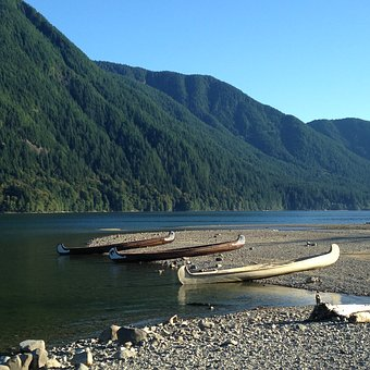 Water, Lake, Mountain, Travel, Nature, Boat, Outdoors