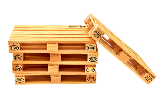 Euro Pallets, Wood, Stack, Pallets, Stacked
